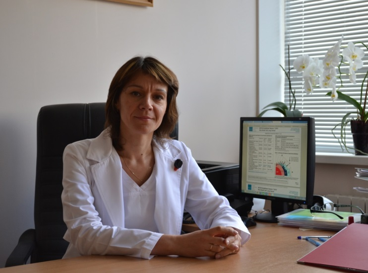 Govorukha Tetyana Mykhailivna - Nuclear Medicine and Radiology Deputy Director, the superior category radiologist