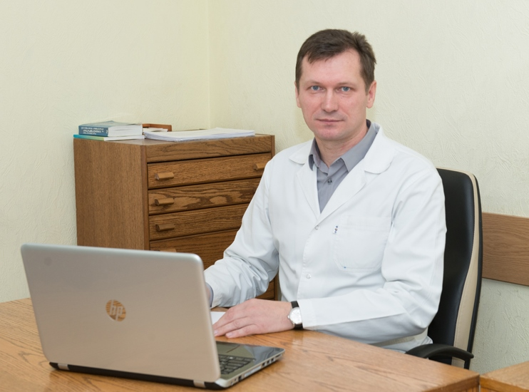 Kondratenko Andrii Vitaliiovych - Medicine Deputy Director, the superior category cancer surgeon, Ph.D