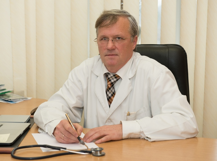 Voitko Oleksandr Volodymyrovych - Medical Aid Quality Inspection Deputy Director, the superior category cancer surgeon and medical officer for public health organization and management of the superior category