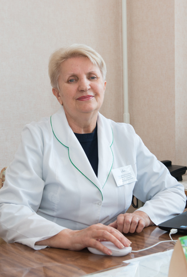 Churikova Nataliia Yakivna - Head of the Department for Radioisotope Diagnostics, the superior category radionuclide diagnostics doctor