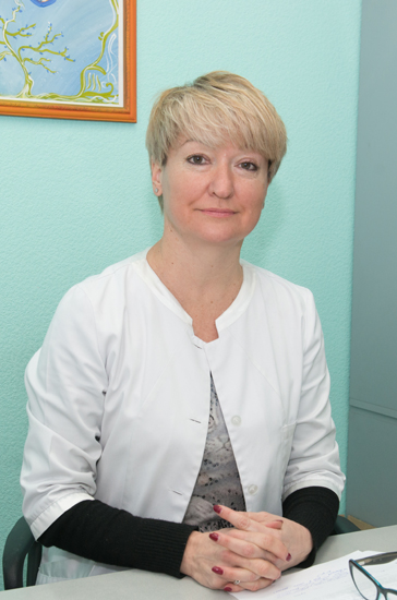 Matiushok Olga Fedorivna - Head of the Childrens Cancer Center, the superior category pediatric oncologist
