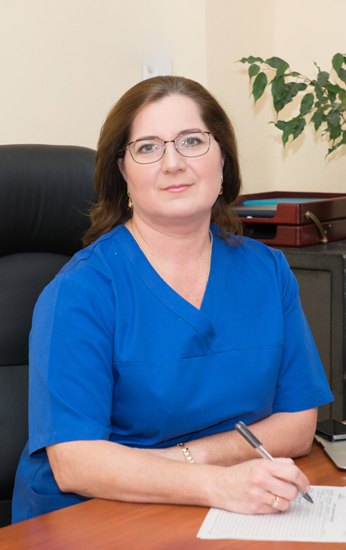 Voitko Nataliia Leontiivna - Head of Chemotherapy Department № 2, the superior category cancer surgeon