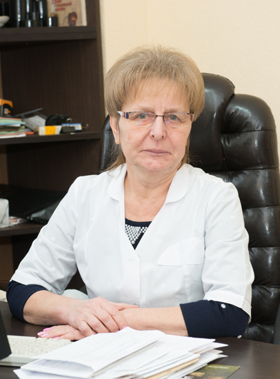 Ogorodnikova Nina Petrivna - Head of the Day-Patient Department for cancer-stricken patients, the superior category cancer surgeon