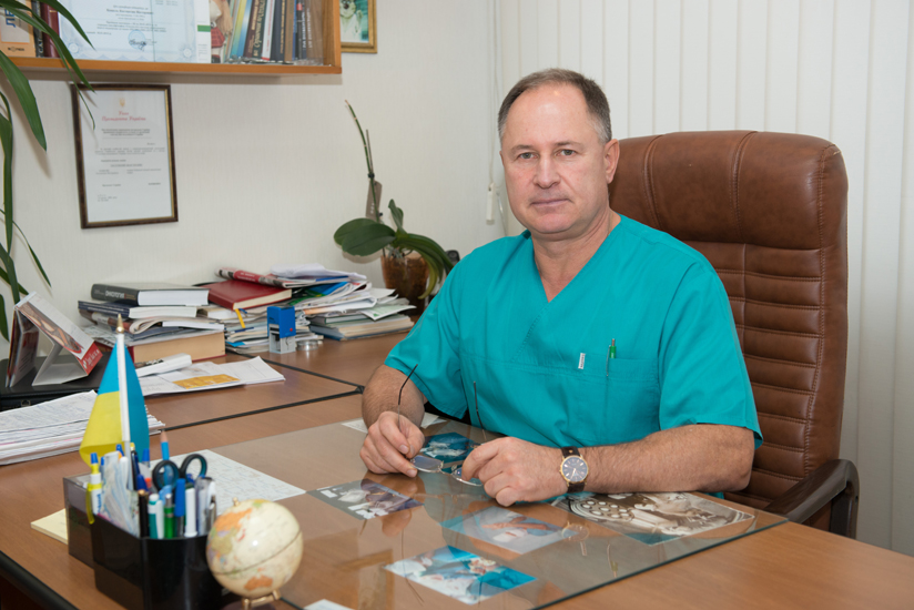 Koshel Kostiantyn Viktorovych - Abdominal Surgery Head, the superior category cancer surgeon, the Honored Doctor of Ukraine