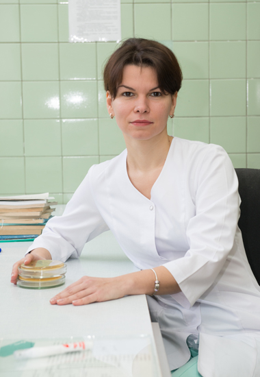 Denysenko Tetiana Ivanivna - Head of the Bacteriology Laboratory, bacteriologist