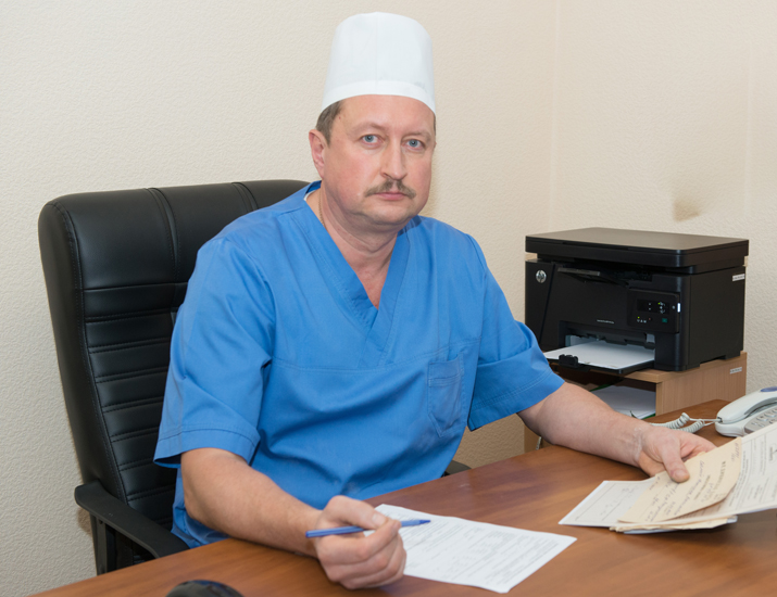 Nayman Andrii Mechyslavovych - Head of the Polyclinic Department, the superior category cancer surgeon