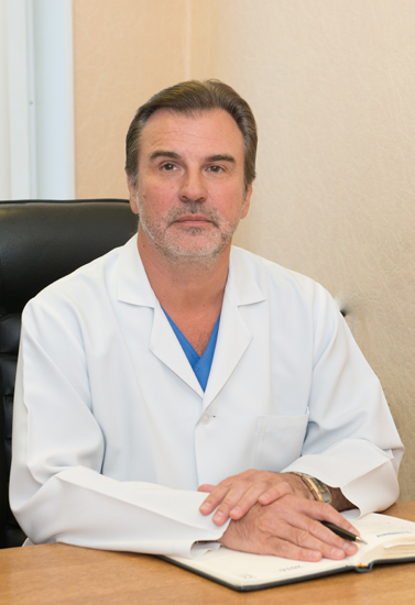 Skobenko Igor Yevgeniyovych - Head of the Endoscopy Department, the superior category endoscopist