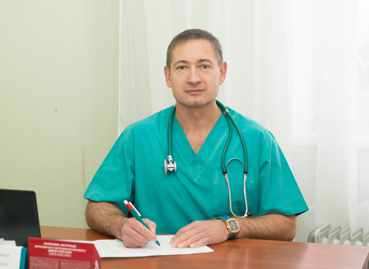 Kulyk Igor Viktorovych - Head of the Anesthesiology and Intensive Treatment Department, the superior category anesthesiologist
